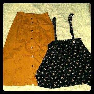 Forever 21 skirts bundle
